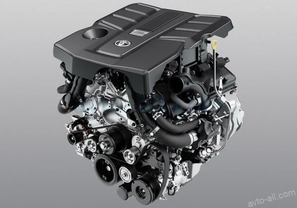 двигатель Тойота Ленд Крузер 300